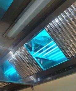 Filtreringssystem med UV-ljus och ozon